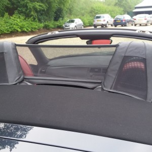 BMW Z4 E85 OEM Wind Deflector