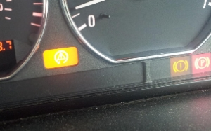 BMW Z3 Brake warning light reset