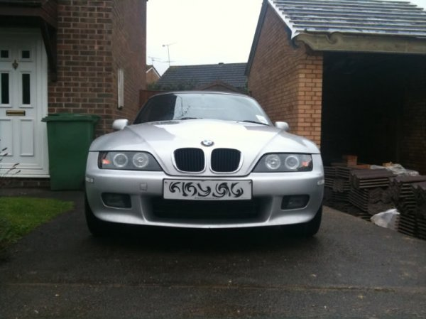 Archived Sold Z3 Angel Halo Projector Headlights Rhd