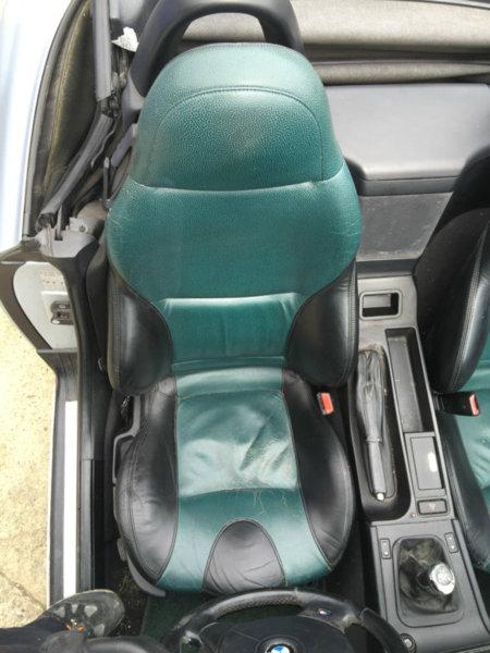 Ebay Z3 Sports Seats Green Black Bmw Z1 Z4 Z8 Z3 Forum