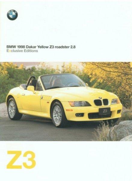 Bmw Z3 Dakar Capable Of Satisfying Virtually Any Desire