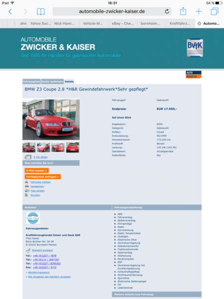 Ebay Cheap Z3m Coupe Bmw Z1 Z4 Z8 Z3 Forum And