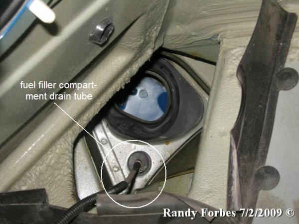 Water Around The Fuel Filler Bmw Z1 Z4 Z8 Z3 Forum And