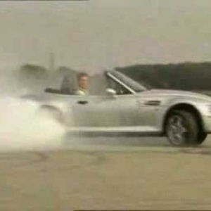 Tiff Needell drifting lesson BMW Z3 M Roadster - YouTube