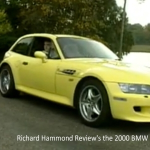 Richard Hammond Reviews the 2000 BMW M-Coupe - YouTube