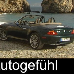 BMW Z3 Roadster heritage video driving exterior interior (1999) - Autogefühl