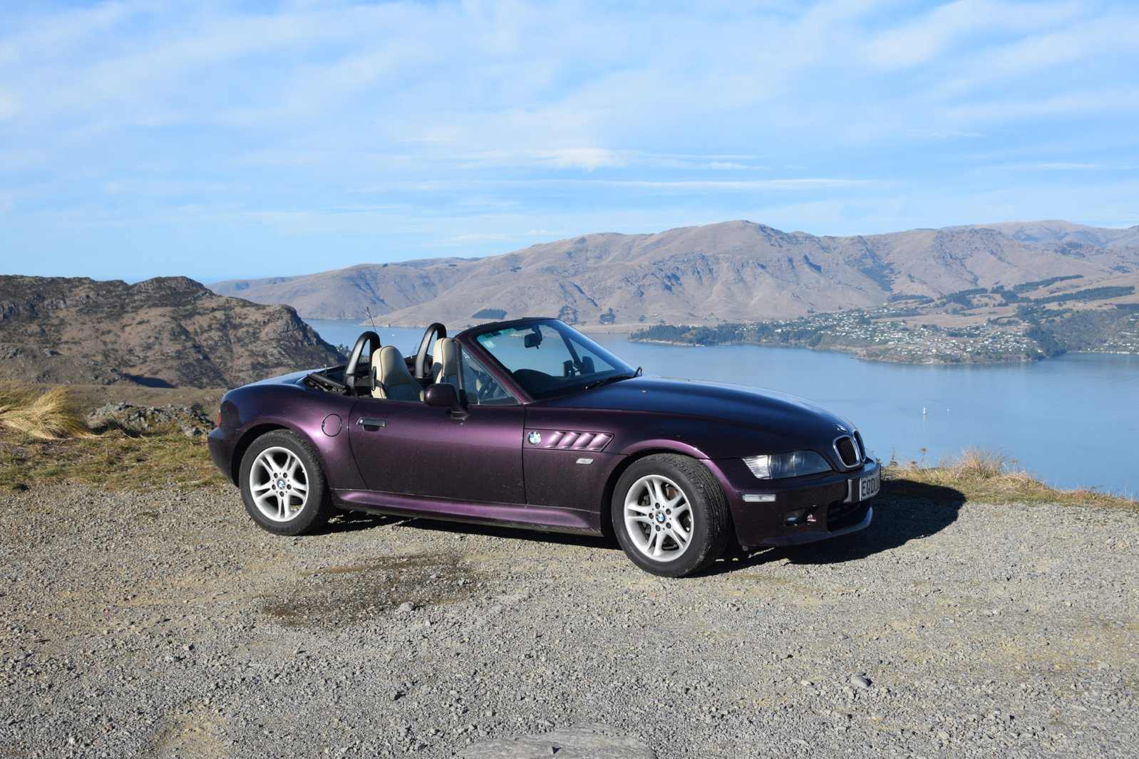 Mora up the Port Hills, Christchurch, New Zealand
