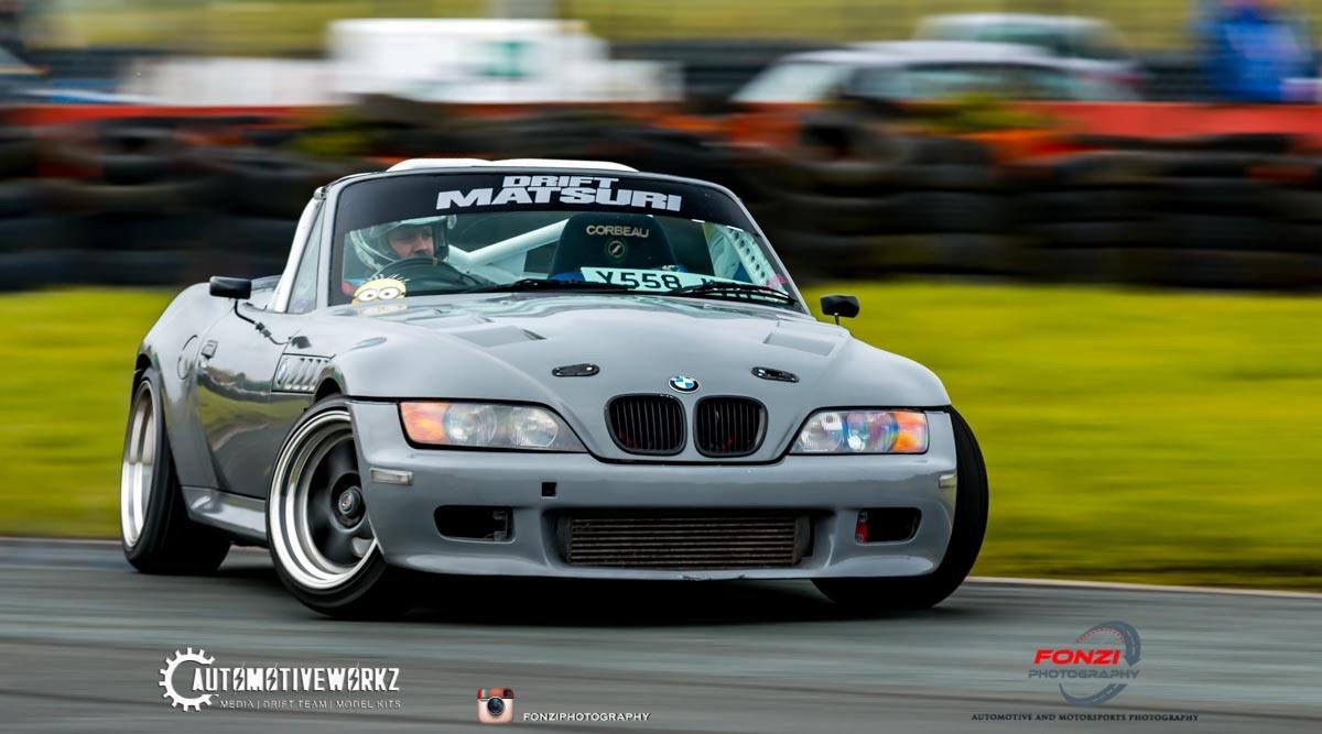 The Z3 Turbo Drift Car Showing Off Its New Nardo Grey