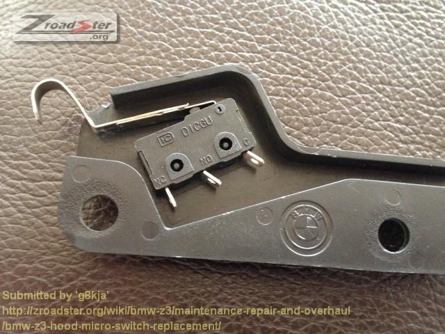 Bmw Z3 Hood Micro Switch Replacement Bmw Z1 Z4 Z8 Z3