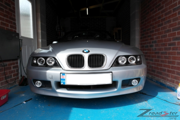 Fitting Sonar Halo Bmw Z3 Angel Eyes Headlight Units Bmw